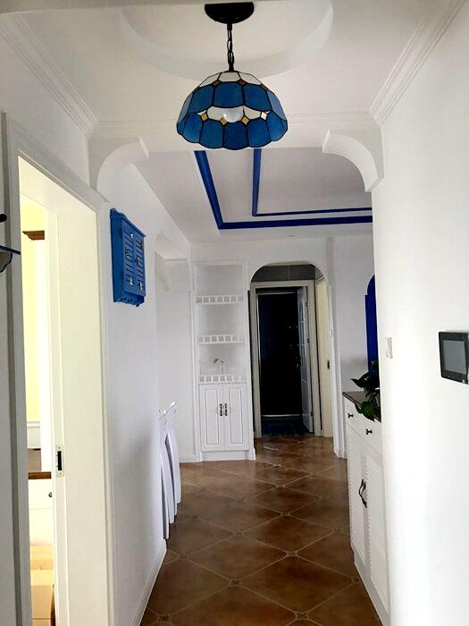 龙口装修公司【装修案例】88平米小三房地中海风格
