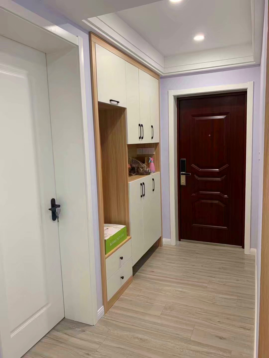 124平北欧风格,简简单单就是家,原木色打造浪漫优雅空间